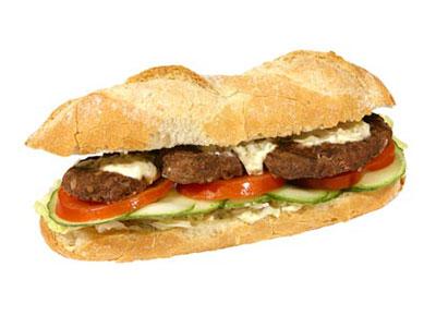 Bio-Beef-Baguette