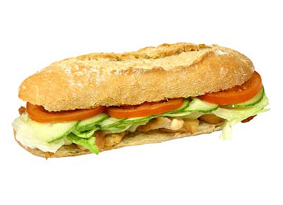 Sweet+Hot Chicken Baguette