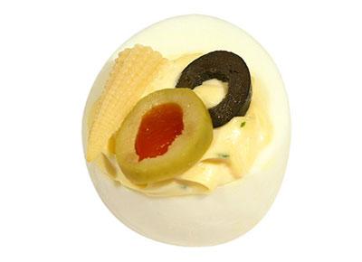 Gef. Ei mit Oliven