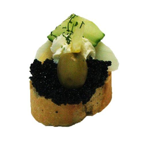 Canapés Kaviar