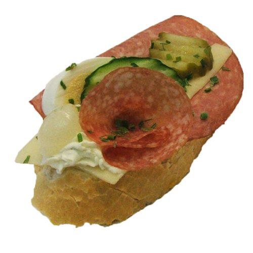 Käse Wurst Brötchen