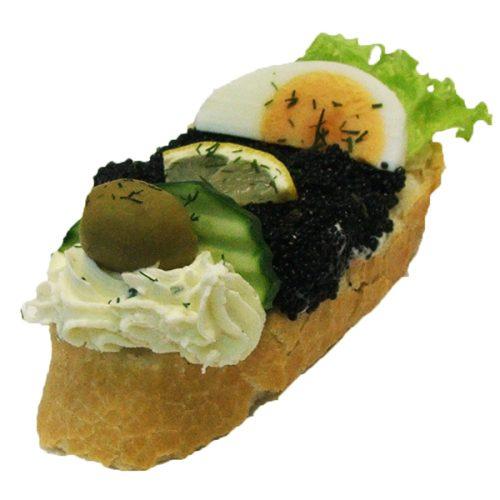 Kaviar Brötchen