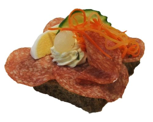 Salami Brötchen