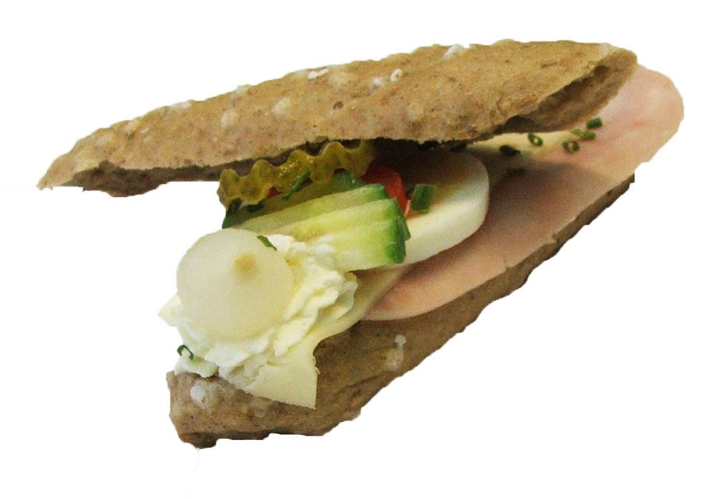 Gefülltes Jorgebäck Schinken Käse