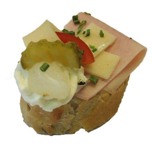 Canapés Schinken/Käse