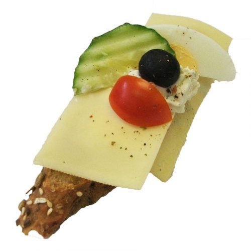 Mehrkornbrötchen Käse