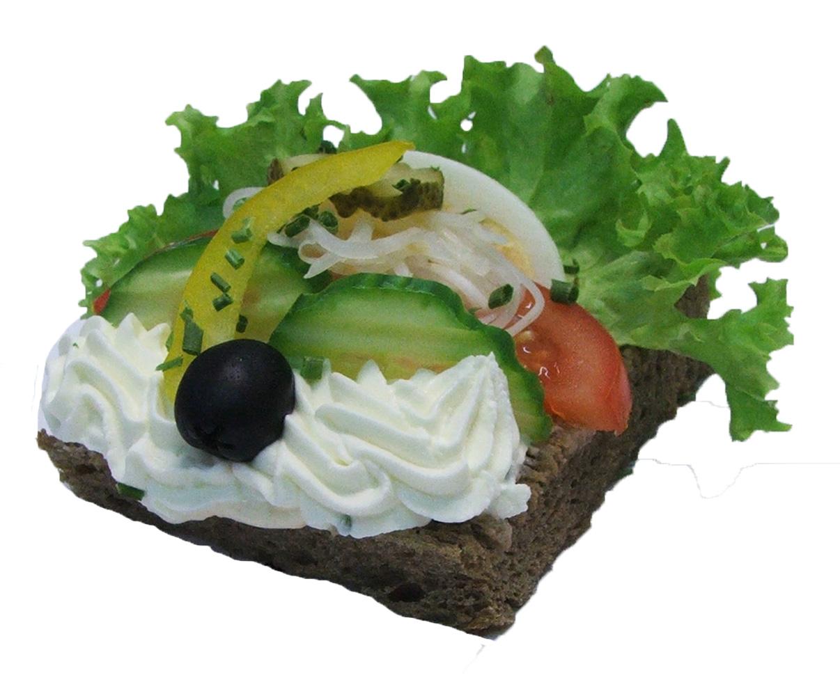 Gemüse Brötchen