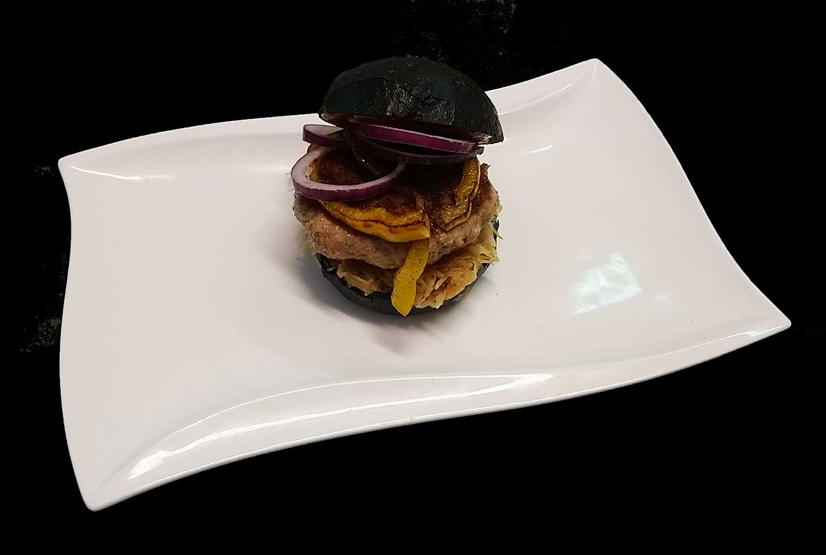 Bratwurst-Burger